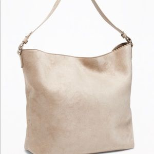 Old Navy: Sueded Slouchy Hobo for Women (New)